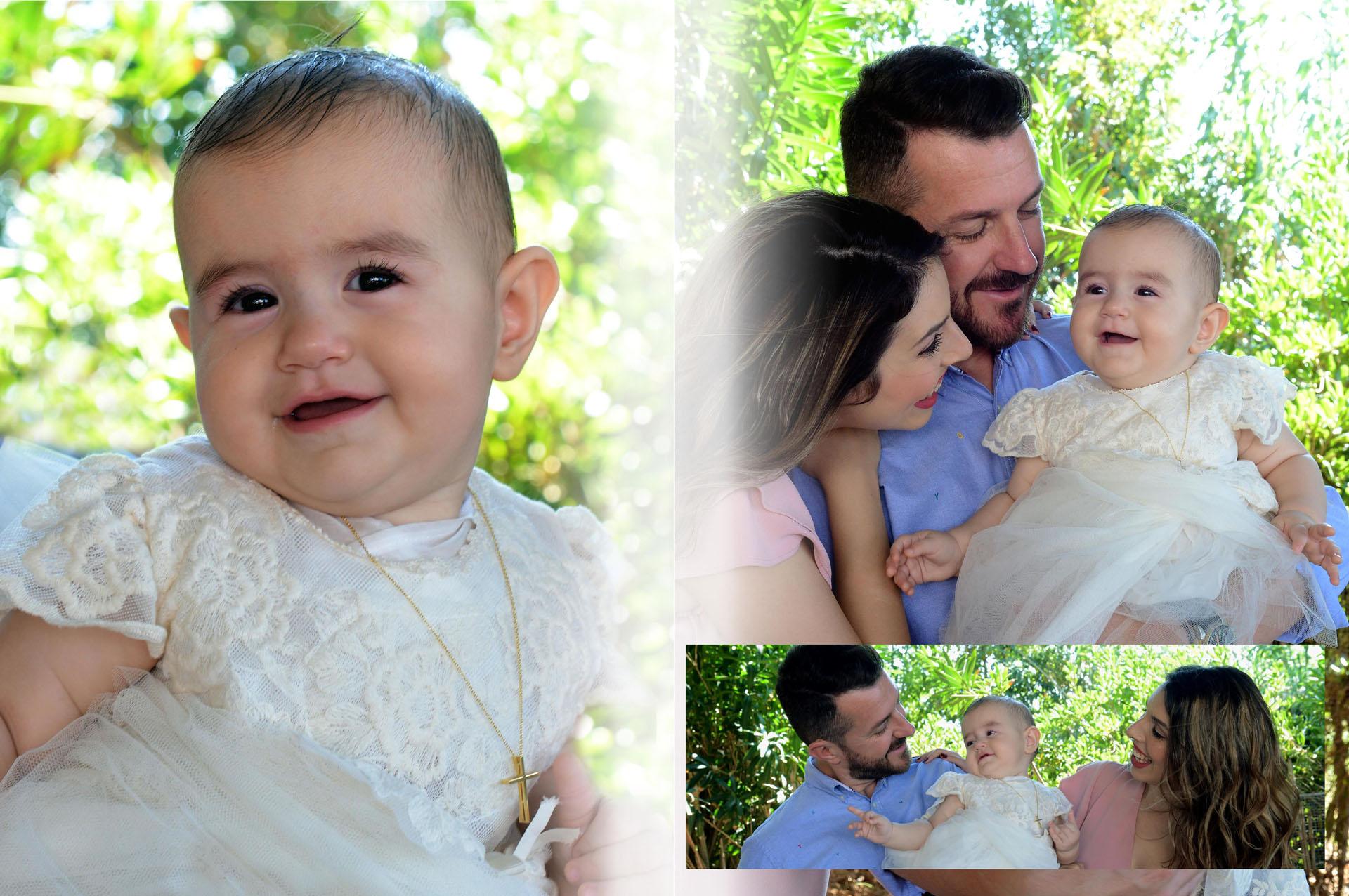Τρυφερές φωτογραφίες της βάπτισης του παιδιού σας